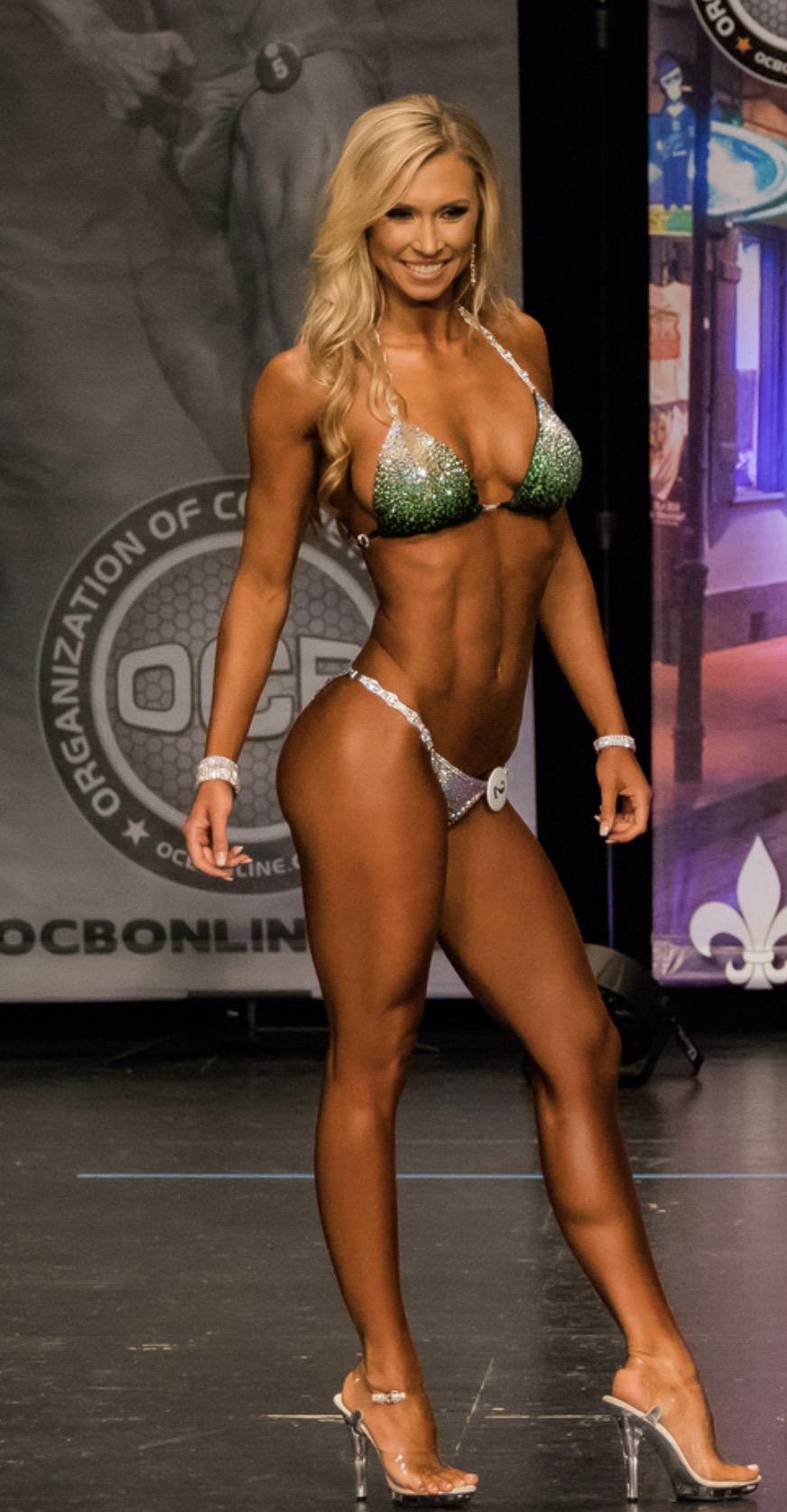 Allison Cameron Sexy natural bodybuilding contests | physique contests
