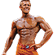 Men's Physique Button
